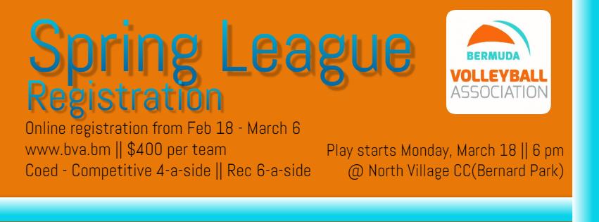 Spring League Registrationl